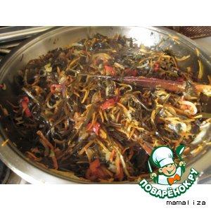 Морская капуста по-корейски