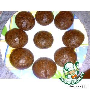 Шоколадно-кокосовые маффины