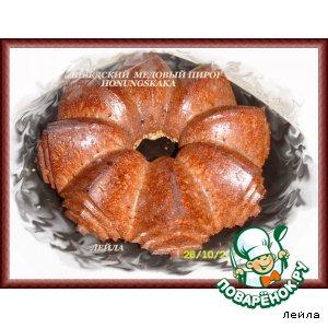 Honungskaka - шведский медовый пирог