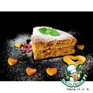 Дрожжевой тыквенный пирог с изюмом