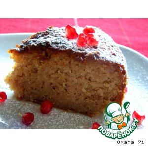 Торт-пирог из гранатового сока