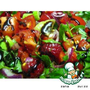 Фруктово-овощной салат для гурманов
