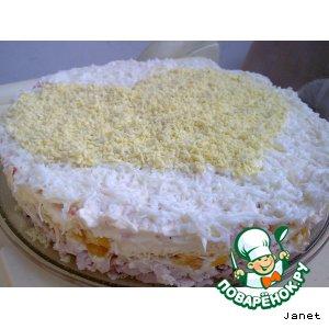 "Торт-салат ""Амурный"""
