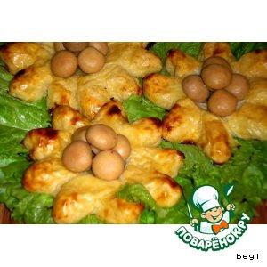 """Картофельные ватрушки """"Подсолнухи"""""""