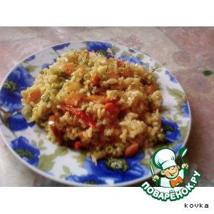 Овощной рис