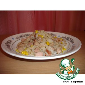 Рис по-генуэзски с кукурузой