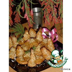 """Рождественское печенье с медом и орехами """"Меломакарона"""""""