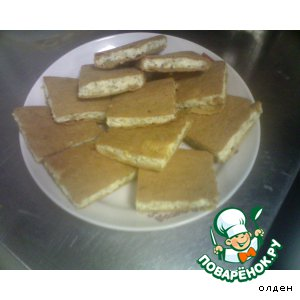 Французский пирог с сыром и луком