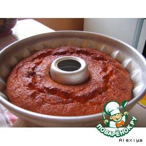Морковный торт-кекс