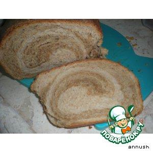 """Ржаной хлеб """"Улитка"""""""