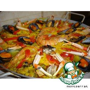 Паэйя из морепродуктов