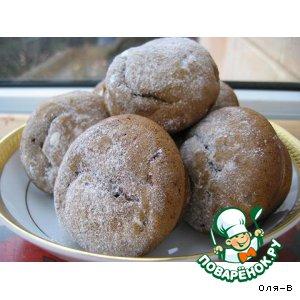 Мини-кексы с халвой и изюмом