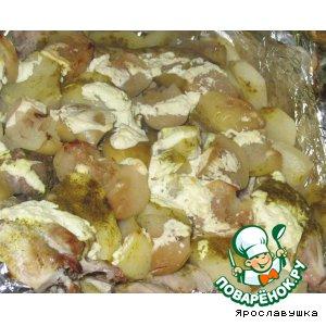 Крольчатина с овощами