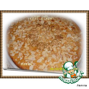 """""""Данди""""-кекс (dundee cake)"""