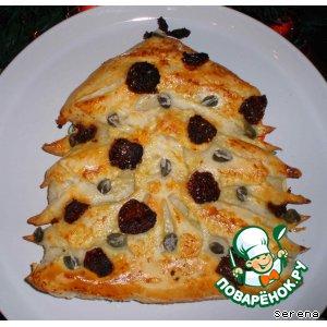 Закусочный пирог с овощами