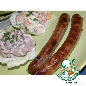 Соус для колбасок-гриль в домашних условиях