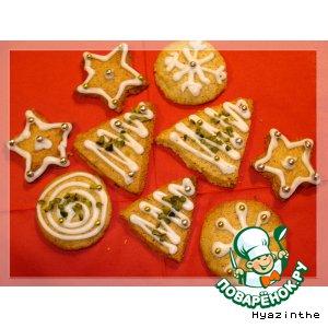 Печенье с фисташками
