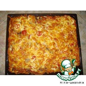 Обыкновенная пицца с необыкновенным тестом