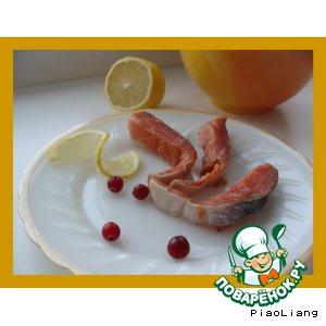 Малосольная красная рыба