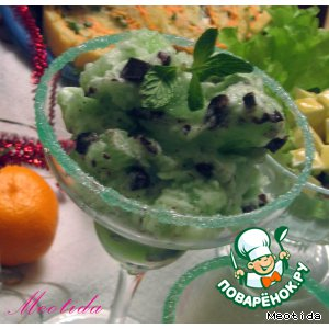 Десерт «Новогодний лед»