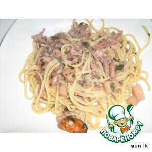Спагетти морские