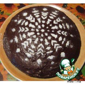 Шоколадный кекс-пирог