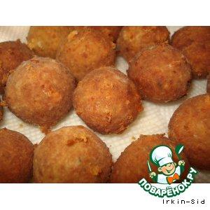 Хлебно-сырные шарики