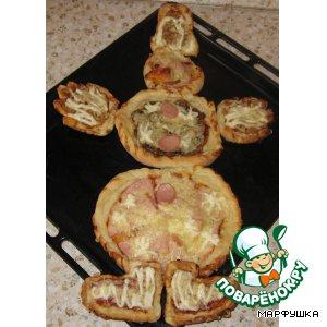 """Пицца """"Снеговик"""""""