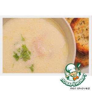 Суп из тертого хрена со сливками
