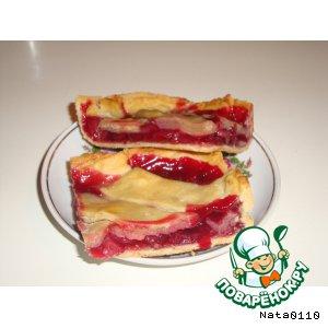 Традиционный английский черешневый пирог