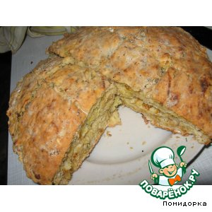 "Домашний хлеб без дрожжей ""Ленивый"""