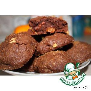 Шоколадное печенье со всякой всячиной