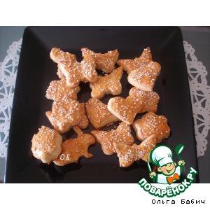 Греческие печенюшки с фетой