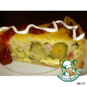 Пирог с брюссельской капустой!