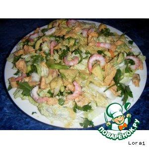 Лeгкий Рыбно-Овощной Салат