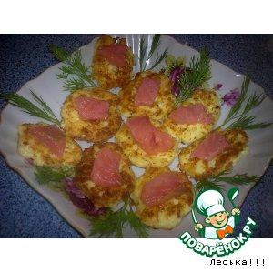 Закуска с рыбкой