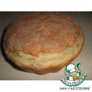Хлеб на пиве и закваске