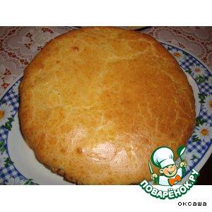 Французский луково-сырный пирог