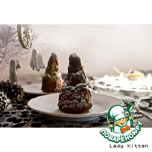 Зимние шоколадные елочки