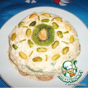 """Закусочный торт """"Манто для индейки"""""""