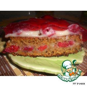 """Вишнeвый торт """"Наслаждение"""""""