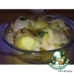 Запеченная картошечка