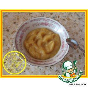 Яблочное пюре для малышей