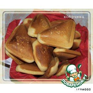Сладкие коврижки из бутербродницы
