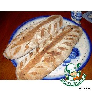 Хлеб ржаной со всякими вкусностями