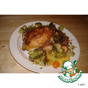 Курица без костей