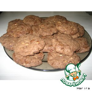 """Шоколадное печенье """"Мерба"""""""