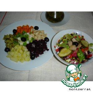 Винегрет овощной