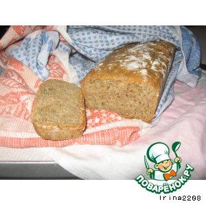 Пшенично-ржаной хлеб на пиве