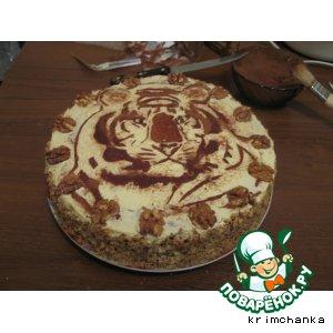 """Торт Подарочный """"Тигрюля"""""""